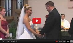 The Bride And Groom Can't Stop Laughing During Their Own Wedding