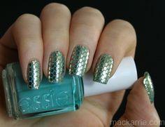 Essie's Sleek Sticks Oh My Gold! http://mackarrie.blogspot.com/