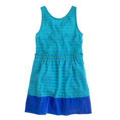 J.Crew - Girls' stripe knit sundress