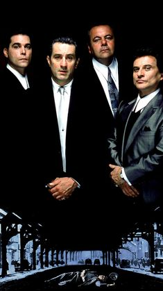 Robert De Niro, Ray Liotta, Joe Pesci, and Paul Sorvino in Goodfellas The Best Films, Iconic Movies, Great Movies, Classic Movie Posters, Film Posters, Love Movie, Movie Tv, Movies Showing, Movies And Tv Shows