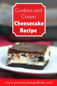 This recipe combines some of my favorite things: cookies, cream, and cheesecake. My friends and family love this cookies and cream cheesecake recipe. It makes a large serving, making it perfect for parties and get-togethers. If you're looking for a unique cheesecake recipe, give this one a try. I don't think you'll be disappointed! Don't forget to save this to your dessert board.