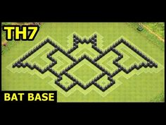 Town Hall 7 Bat Base Clash of Clans Town Hall 6, Clash Of Clans Attacks, Clash Games, Hybrid Art, Clash On, Funny Animal Photos, Batman, Base, Clash Royale