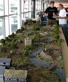 WarHammer fantasy board, just an amazing big old table to play on.  Engrossing.: