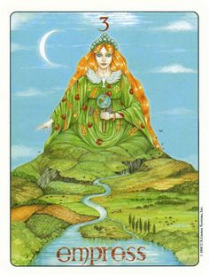 Free Daily Tarotscope -- May 28, 2014 -- The Empress   With Venus moving in to Taurus today what better card to depict this than Elizabeth Josephine Gill's Empress card, from the beautiful Gill Tarot collection.  You can almost see and feel the earth moving around the Empress as she sits soaking up the energy all around her.  By giving to yourself and replenishing your own reserves of self love and acceptance you are better equipped to give to others .... (more) ...