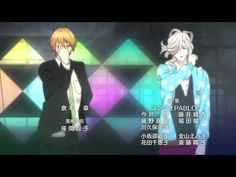 Brothers Conflict ending. Probably one of the cutest endings and is cool since 14 voice actors were involved in this song.