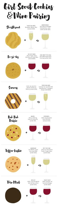 What Wine to Pair with Girl Scout Cookies | Relish.com
