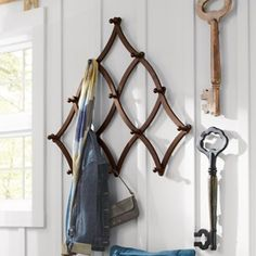 Expandable Coat Rack, will go nicely with mirror