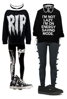 """""""Untitled #26"""" by amiah-dye on Polyvore featuring Charlotte Russe, Converse, Vans and Trend Cool"""