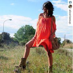 Botas camperas y bolso de flecos Lolita Blu ¡ Gracias por compartir¡ #ChicasLolitaBlu