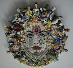 Susan Elliott - New Works Mor Mosaic Mosaic Diy, Mosaic Garden, Mosaic Crafts, Mosaic Projects, Mosaic Wall, Mosaic Glass, Mosaic Tiles, Garden Art, Art Projects
