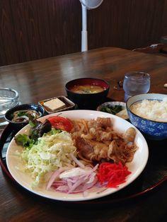 生姜焼き定食/ふつうの食堂きらく