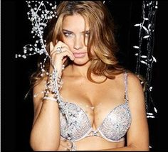 Adriana Lima Sizzles In $2million Diamond Bra