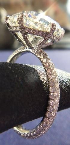 Wrap around Diamond Engagement Ring