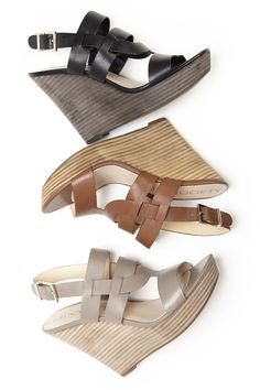 The perfect leather wedges for every spring outfit | Sole Society Jenny