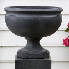 Have to have it. Campania International Williamsburg Plantation Cast Stone Urn Planter - $514.99 @hayneedle