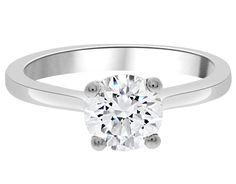 1 Carat Certified Ring SR1004   Bespoke Diamonds Jewellers