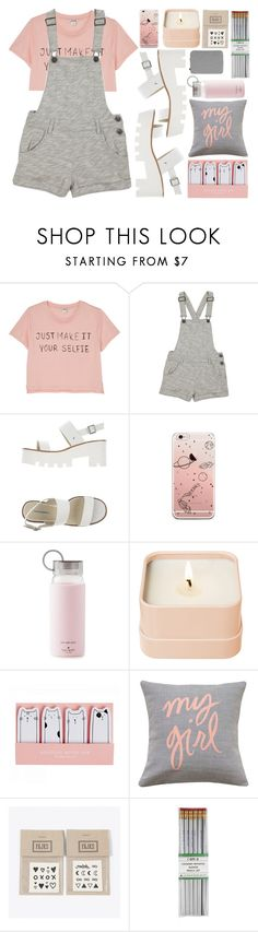 """Summer vacation"" by clampigirl ❤ liked on Polyvore featuring Monki, Forever 21, Windsor Smith, Kate Spade, Henri Bendel, Brika, NAVUCKO, i am a and HAY"