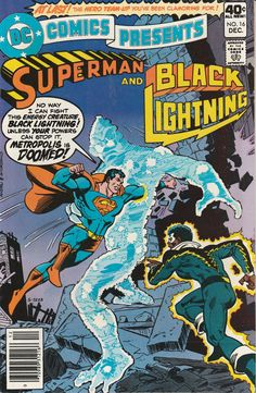 DC Comics Presents Vol. 2 No. 16  1979  Superman and Black Lightning by TheSamAntics
