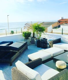 Terrace inspiration #terrace #terraceinspiration #rooftop Outdoor Sectional, Sectional Sofa, Torrevieja Spain, Outdoor Furniture, Outdoor Decor, Rooftop, Sun Lounger, Terrace, Summer