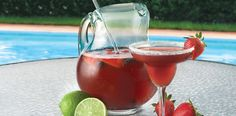 SanGrita recipe from the ALDI Test Kitchen. The refreshing Spanish punch you'll love a bunch. Refreshing Drinks, Summer Drinks, Cocktail Drinks, Cocktails, Sangrita Recipe, Summer Recipes, Holiday Recipes, Aldi Recipes, Cheap Recipes