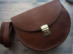 Купить Сумка из натуральной кожи - коричневый, сумка из натуральной кожи, Кожаная сумка, сумка из кожи