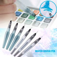 1Pc Stylish Superior Pilot Paint Brush Pentel Water Brush Water Tank Calligraphy Brush Pen Watercolor #91597-in Paint Brushes from Home & Garden on Aliexpress.com | Alibaba Group