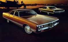 "1972 Chrysler..another pic of our car when I was a kid. It was green and we called it ""the cowpie""."