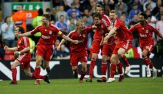 On the way back to another Champions League final after penalty shoot-out victory over Chelsea
