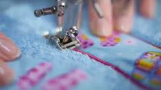 Tutorial: how to use the BERNINA embroidery foot no. 6, 20, 20C, 20D, 39...