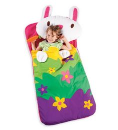 Animal Sleeping Bag, Kid Sleeping Bag - HearthSong -- totally trying to make an adult sized Totoro mwahaha