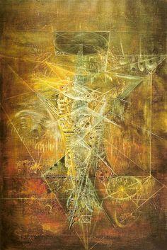 Leonora Carrington - Sachiel, the Angel of Thursday 1967