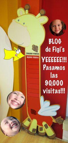 ¡¡¡¡¡Pasamos las 90,000 visitas y vamos en busca de la 100,000!!!!! GRACIAS | Figi's