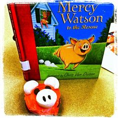 "The Great Discovery Tween Book Club Meeting with Kate DiCamillo's ""Mercy Watson to the Rescue."" Kids will love eating toast (Mercy's fave) and a Mercy Watson Cupcake!"