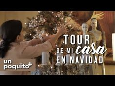 UnPoquito+ TOUR DE MI CASA EN NAVIDAD: COMO DECORO MI SALA - YouTube Christmas Villages, Christmas Tree, Christmas Decorations, Holiday Decor, Bluefields, Joy, Youtube, Watch, Projects