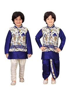 Shop your favorite Indian Kids Boys Dresses through online from Cbazaar at very best prices. Find the affordable styles of Kids Wear Boys Clothes. Boys Dressy Outfits, Little Boy Outfits, Kids Wear Boys, Kids Clothes Boys, Baby Boy Ethnic Wear, Baby Boy Fashion, Kids Fashion, Marriage Suits, Kids Kurta Pajama