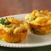 Impossible Mini Chicken & Broccoli Pies ~ Create your own signature mini pie w/ Betty Crocker & Bisquick®