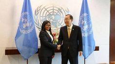 Ban Ki-moon reitera apoyo de la ONU al diálogo en Venezuela - El Universal (Venezuela)
