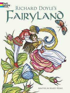 Coloring Books Fairyland Kids Adults Fairytale Fun Color Design Relaxing Therapy In Children