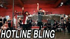 """HOTLINE BLING"" - DRAKE Dance | @MattSteffanina Choreography (Justin Bie..."