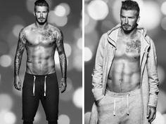 David Beckham doing ads for H & M = win.  @Kylee Crossen
