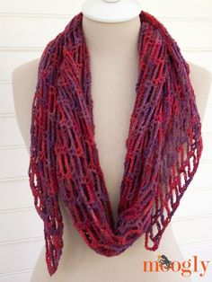 Artfully Simple Angled Scarf