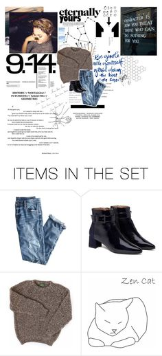 """""""[GA] Gotta get out."""" by min-t ❤ liked on Polyvore featuring art"""
