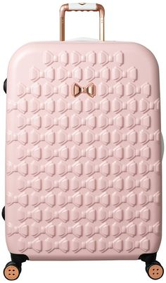 Buy Ted Baker Beau Large Suitcase from the Next UK online shop Large Luggage, Large Suitcase, Calpak Luggage, Pink Suitcase, Luggage Sets, Cute Suitcases, Women's Crossbody Purse, Trolley Case, Ted Baker Womens