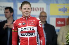 Meet Lotte Kopecky - the youngest rider in the women's Olympic road race. Road Racing, Olympics, Motorcycle Jacket, Cycling, Faces, Meet, Future, Fashion, Moda