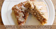 Gluten Free Apple Cinnamon Scones