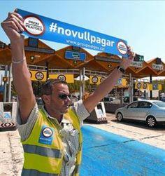 Anulada una multa impuesta durante la campaña del '#novullpagar'