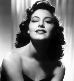 """When I'm old and gray, I want to have a house by the sea. And paint. With a lot of wonderful chums, good music, and booze around. And a damn good kitchen to cook in."" Ava Gardner."