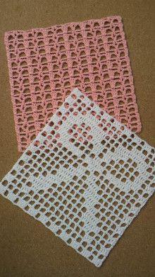 Crochet Stitches Patterns, Crochet Chart, Crochet Motif, Diy Crochet, Crochet Doilies, Crochet Squares Afghan, Crochet Blocks, Granny Squares, Crochet Dishcloths