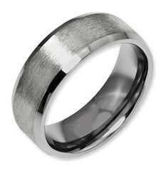 21 Best Titanium Mens Wedding Rings Images Wedding Rings Rings