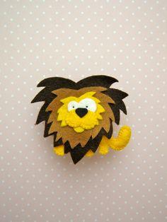 Løve i filt, fra Håndarbejdsom